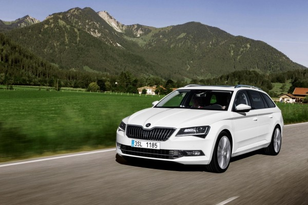 Skoda Superb III Kombi 15-