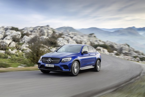 Mercedes Klasa GLC GLC Coupe [C 253] 16-