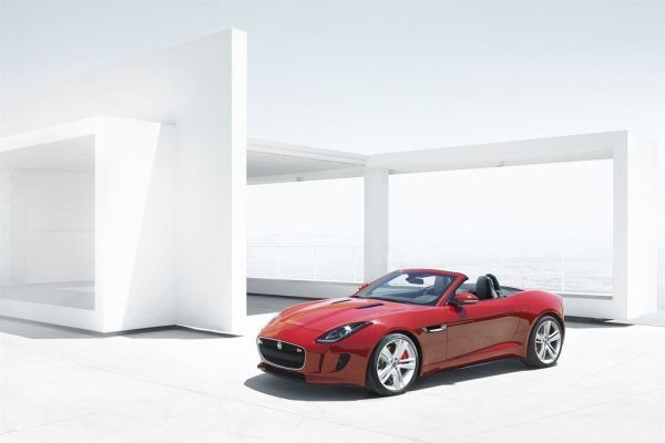 Jaguar F-Type Convertible 17-