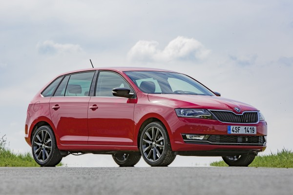 Skoda Rapid Spaceback 17-