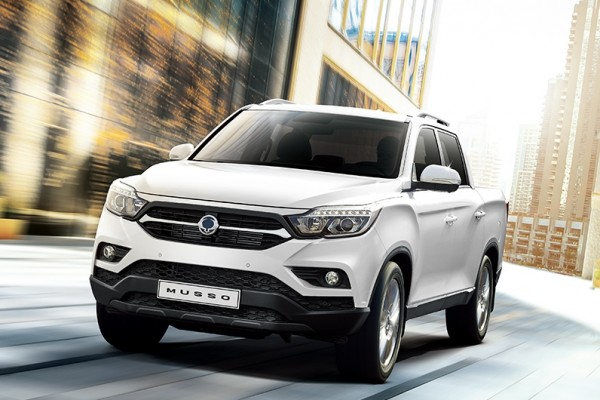 SsangYong Musso 18-