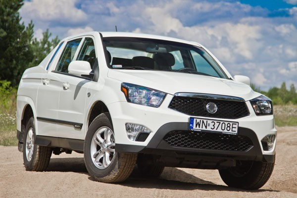 SsangYong Actyon Kup nowy - konfigurator