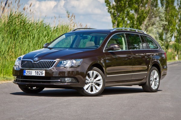 Skoda Superb VAN 2009-2014