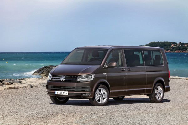Volkswagen Transporter  Caravelle T6 2015 - Wymiary i masy