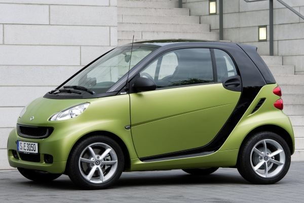 Smart fortwo Coupe city 2007-2010