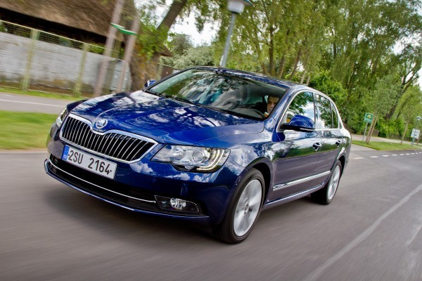 Skoda Superb  VAN 2008-2014