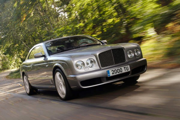 Bentley Brooklands  - Wymiary i masy