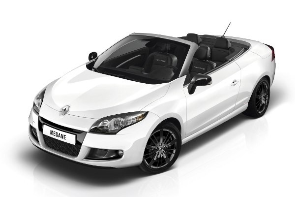 Renault Megane  Coupe-Cabriolet III 2010-2013 - Wymiary i masy