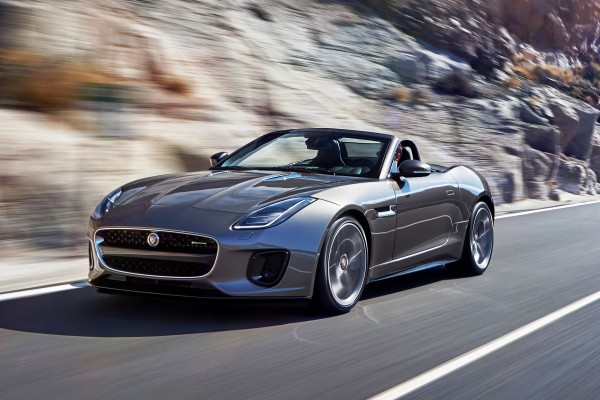 Jaguar F-Type Convertible 17