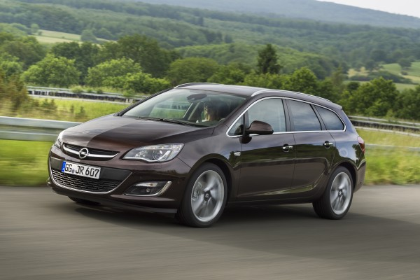 Opel Astra IV 2012