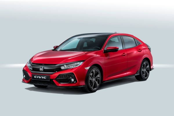 Honda Civic Hatchback 17-