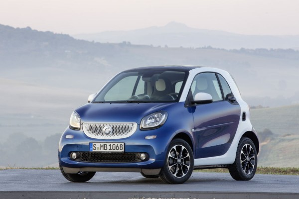 Smart fortwo [C 453] 14-