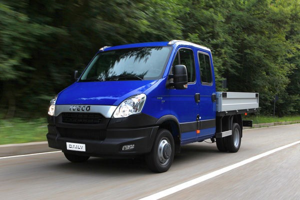 Iveco Daily  CNG 35C14G EEV 2011-2014 - Wymiary i masy