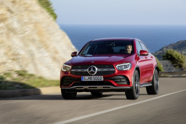 Mercedes Klasa GLC              GLC Coupe 220 d 4-Matic 194KM