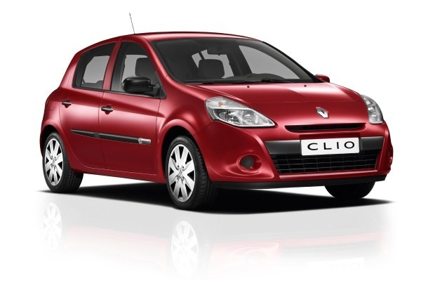 Renault Clio  III Collection 2013-2013 - Wymiary i masy