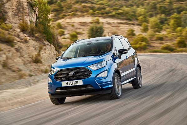 Ford Ecosport Kup nowy - konfigurator