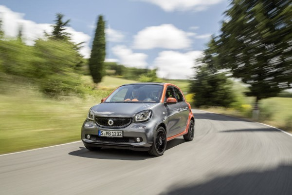 Smart forfour - Spalanie