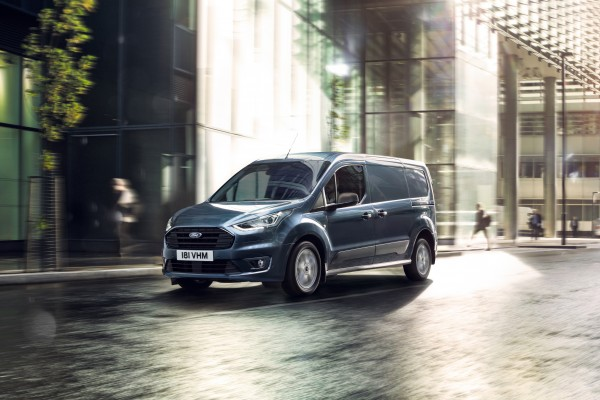 Ford Transit Connect  - Wymiary i masy