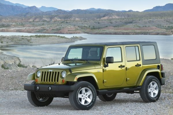 Jeep Wrangler Unlimited VAN 2007-2010