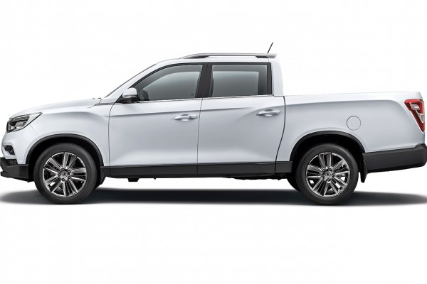 SsangYong Musso Kup nowy - konfigurator