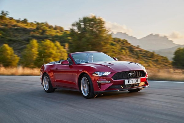 Ford Mustang  - Wymiary i masy