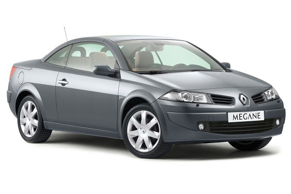 Renault Megane  Coupe-Cabriolet II 2006-2009 - Wymiary i masy