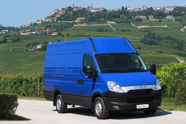 Iveco Daily  CNG 35S14G EEV 2011-2014 - Wymiary i masy