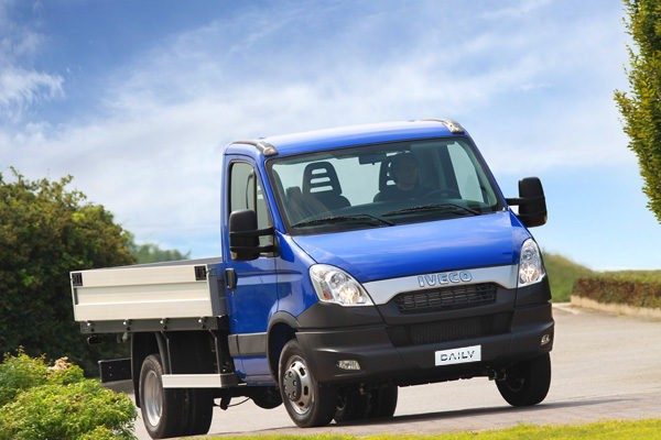 Iveco Daily  CNG 50C14G EEV 2011-2014 - Wymiary i masy