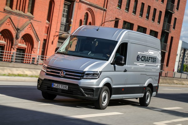 Volkswagen Crafter  - Wymiary i masy
